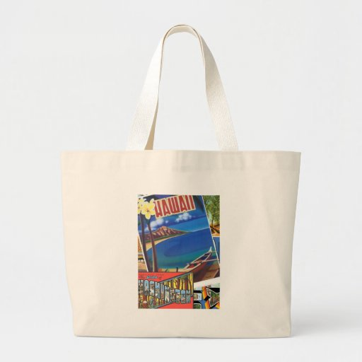 Greetings From Hawaii Canvas Bag