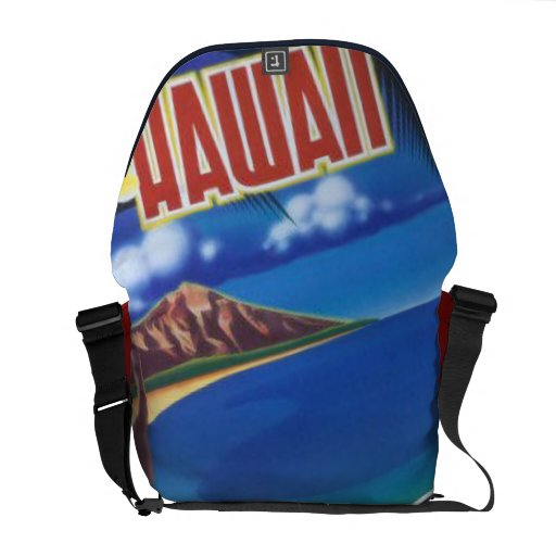 Greetings From Hawaii Courier Bags