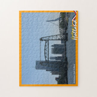 Greetings from Holland Rotterdam Skyline Jigsaw Puzzle