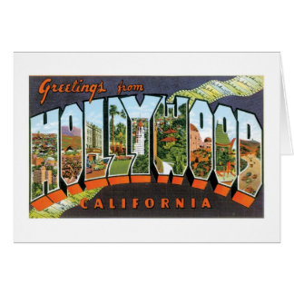 Greetings from Hollywood! Greeting Card