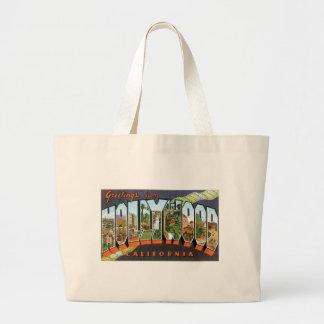 Greetings from Hollywood! Jumbo Tote Bag