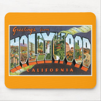 Greetings from Hollywood! Mouse Mat