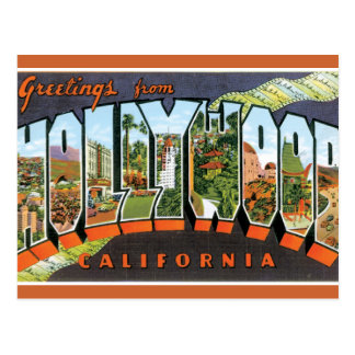 Greetings From Hollywood Postcards