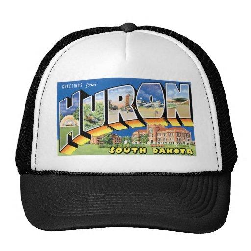 Greetings from Huron, South Dakota!  Retro Mesh Hats