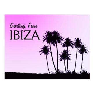 Greetings From Ibiza postcard