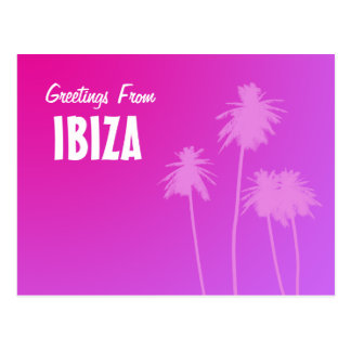 Greetings From IBIZA postcard