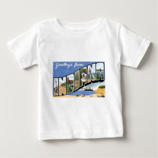 Greetings from Indiana! Baby T-Shirt