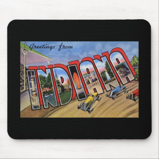 Greetings from Indiana Mouse Pad