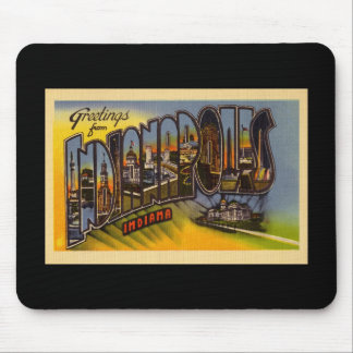 Greetings from Indianapolis Indiana Mouse Pad