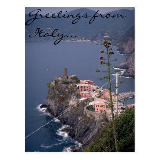 Greetings from Italy... Postcard