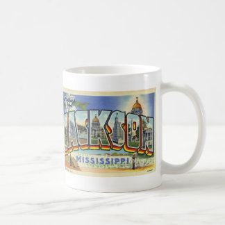 Greetings from Jackson Mississippi Vintage Mug