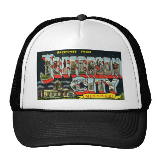 Greetings from Jefferson City Missouri Trucker Hats