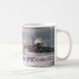 GREETINGS FROM JFK COFFEE MUG