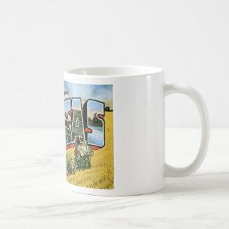 Greetings from Kansas Coffee Mug
