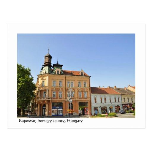 Greetings from Kaposvar, Hungary Postcard