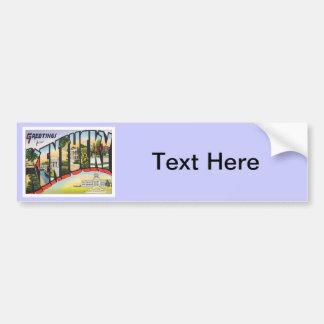 Greetings From Kentucky Bumper Sticker