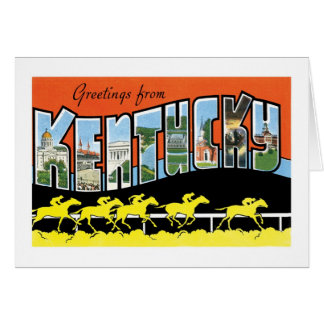 Greetings from Kentucky! Card