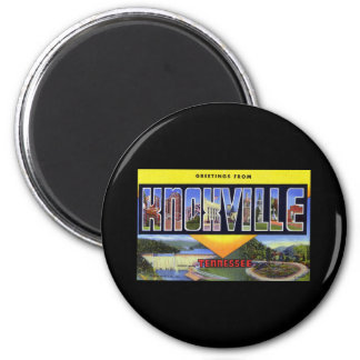 Greetings from Knoxville Tennessee 6 Cm Round Magnet