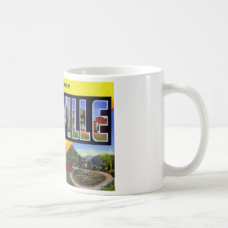 Greetings from Knoxville Tennessee Coffee Mugs