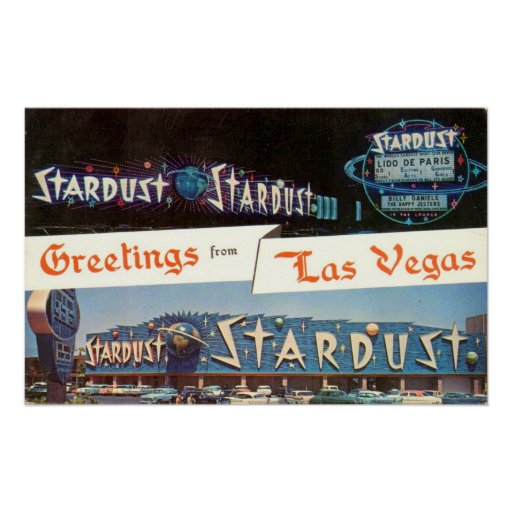Greetings From Las Vegas Poster