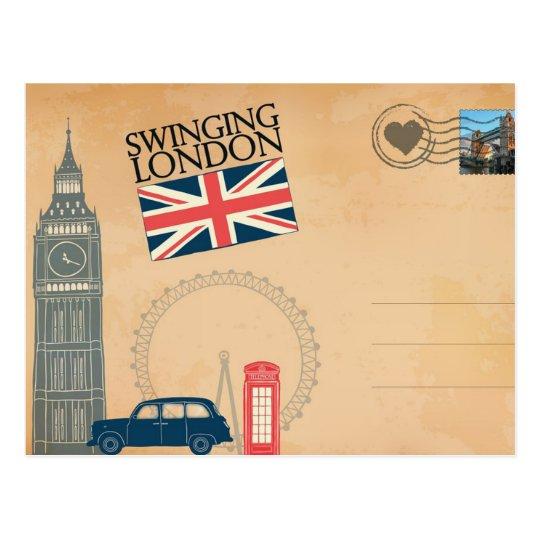 Greetings from London, United Kingdom Postcard