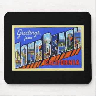 Greetings from Long Beach California Mousepads