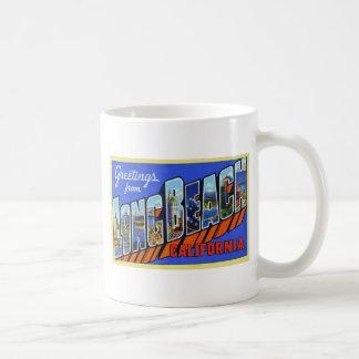 Greetings from Long Beach California Mug