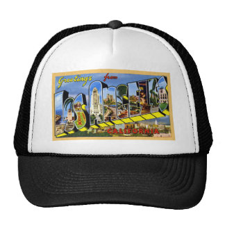 Greetings from Los Angeles California Hat