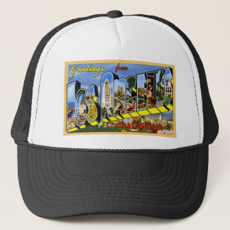 Greetings from Los Angeles California Trucker Hat