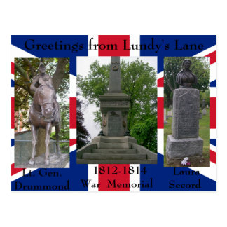 Greetings from Lundy s Lane - Customized Post Card