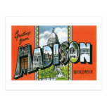 Greetings from Madison, Wisconsin! Postcards