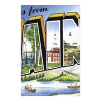 Greetings From Maine Stationery
