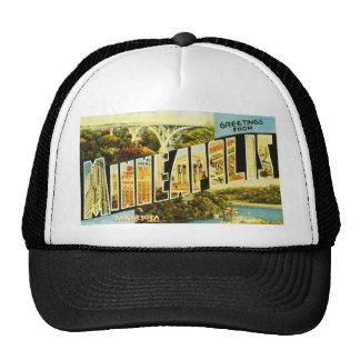 Greetings from Minneapolis Minnesota Mesh Hats