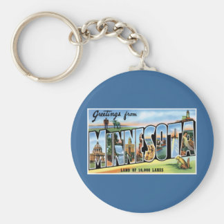 Greetings from Minnesota! Keychains