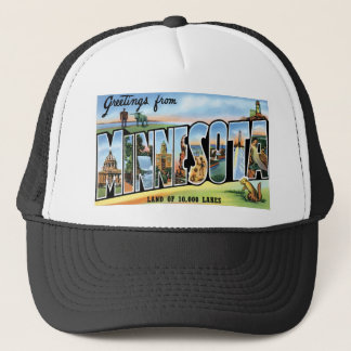 Greetings from Minnesota! Trucker Hat