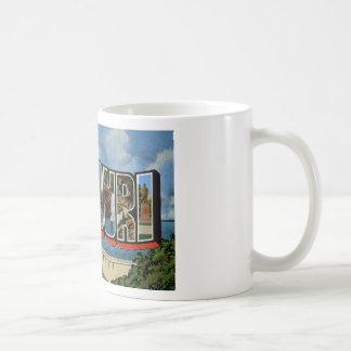 Greetings from Missouri Coffee Mugs