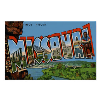 Greetings from Missouri Poster