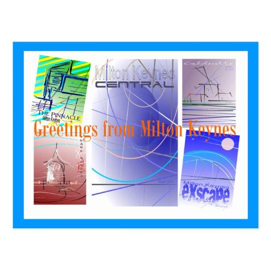 Greetings from MK Postcard