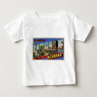 Greetings from Mobile Alabama Baby T-Shirt