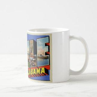 Greetings from Mobile Alabama Mugs