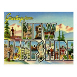 Greetings From New Hampshire Post Card