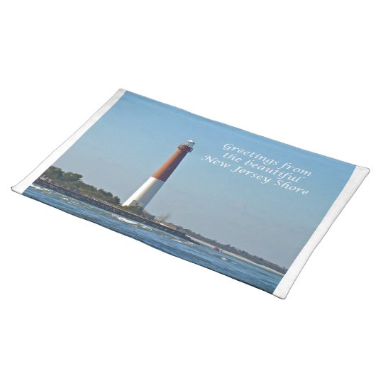 Greetings From New Jersey - Barnegat Light Placemats