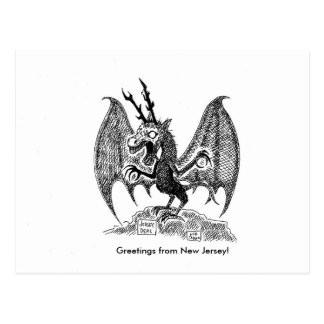 Greetings from New Jersey! Postcard