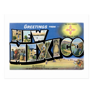 Greetings from New Mexico! Postcard