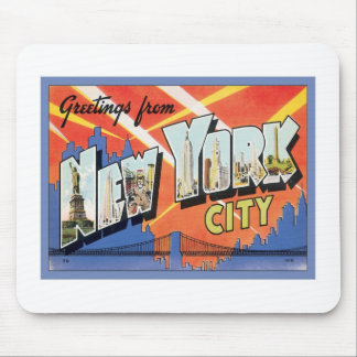 Greetings From New York City Mouse Pad