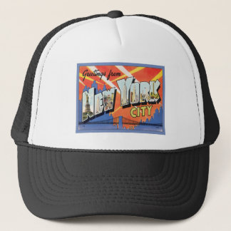 Greetings From New York City Trucker Hat