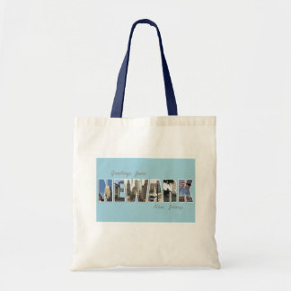 Greetings from Newark, New Jersey TOTE BAG