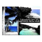 Greetings from Niue - Postcard