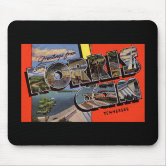 Greetings from Norris Dam Tennessee Mouse Pad
