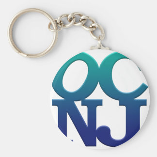 Greetings from Ocean City Key Ring
